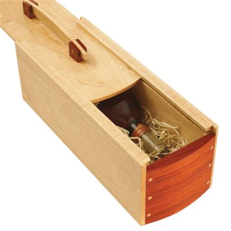 woodworker gifts gift wine box woodworking plan from wood magazine