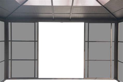 screen room roof panels sunjoy screen room 12 x 14 roof panels and wall to wall screens ebay