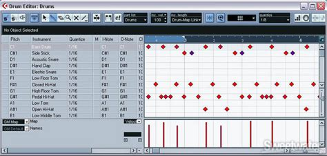 cubase drum pattern editor steinberg cubase se virtual instruments collection