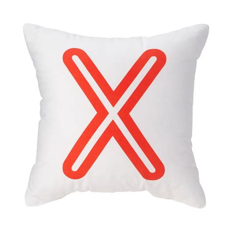 letter pillows x bright letter throw pillow the land of nod