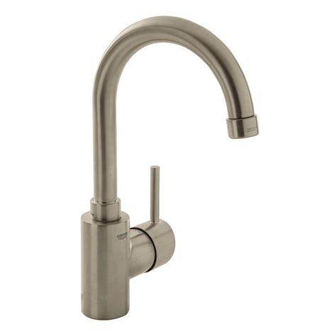 grohe single bathroom faucet grohe concetto single single handle high arc bathroom