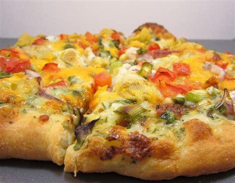 table veggie pizza table gourmet veggie pizza copycat recipe pizza
