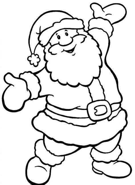 dibujos colorear papa noel az dibujos para colorear dibujos de pap 225 noel para colorear dibujos de santa claus