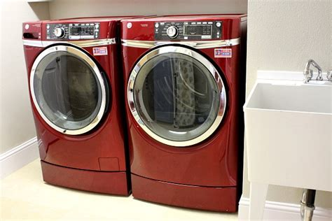Lg Washer Pedestal Red Ge Energy Star Washer And Dryer Product Review