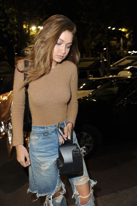 Milan Ripped gigi hadid in ripped out in milan italy 9 22 2016