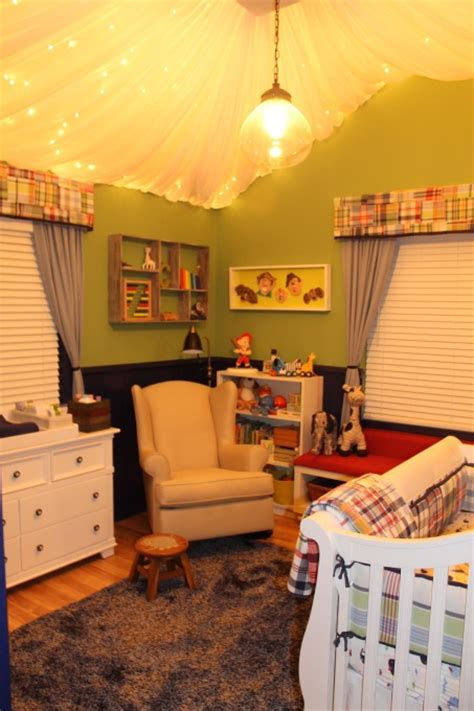 Boy Nursery Light Fixtures Omg Baby Boy Nursery Lights Up Top Oh Baby Plaid White Furniture And Baby Boy