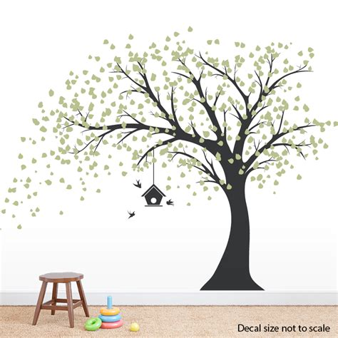 oversized wall stickers image large black tree wall decals
