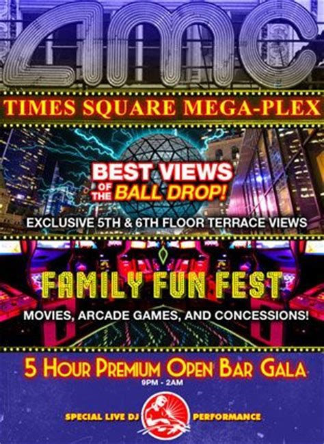 amc times square new years amc 42nd times square new years 2015 new york