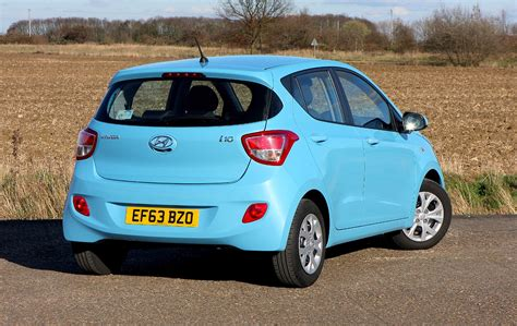 hyundai i10 hatchback 2014 photos parkers
