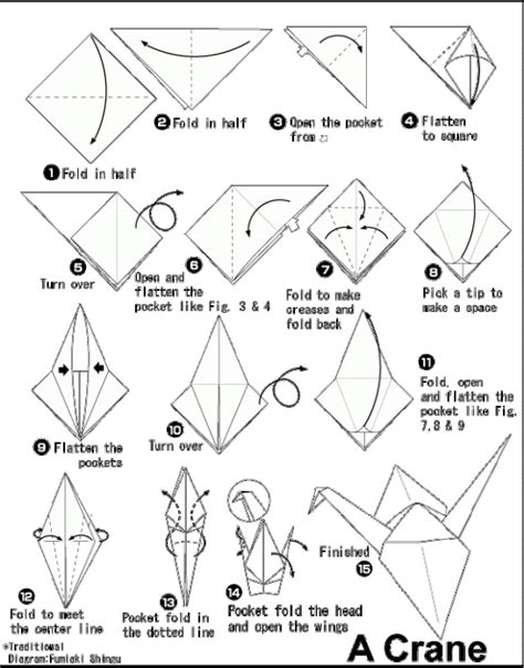 Origami Crane Tutorial - 301 moved permanently