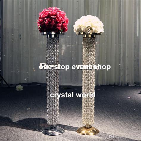 wedding chandelier centerpieces wedding decoration gold chandelier table