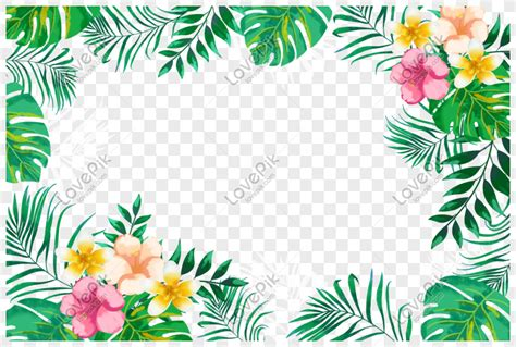 gambar bunga hijau png