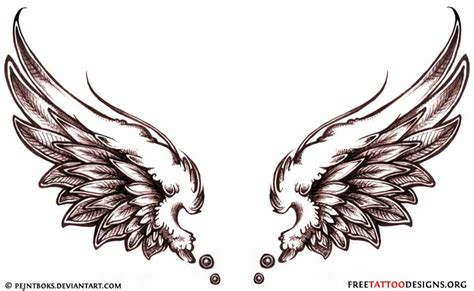 Tattoo Flash Wings | angel wing tattoo free tattoo pictures