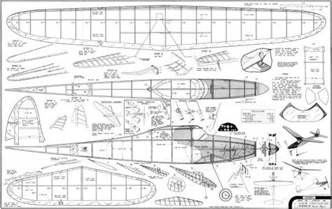 free rc plans wood work balsa wood airplane plans pdf blueprints freepdf