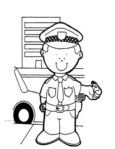 25 Best Images About Coloring Pages Police On Pinterest Coloring Pages Of Officers