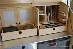 Camper Trailer Kitchen Designs by Tiny Yellow Teardrop Ten Best Teardrop Galleys