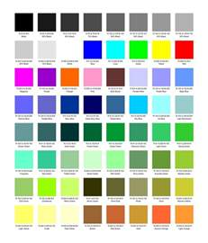 name colors color names colors