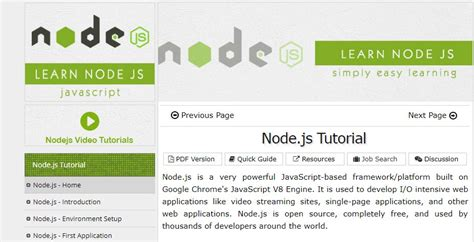 best node js tutorial best nodejs getting started tutorials on air code
