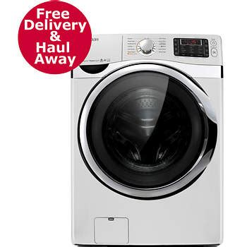 samsung vrt plus samsung 4 5 cu ft front load washer with vrt plus white bjs wholesale club