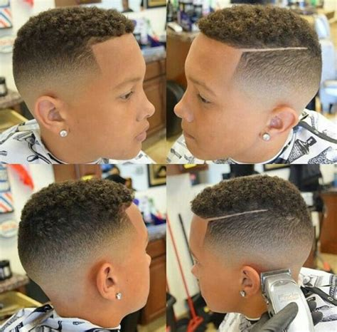 little boy fade with curls on top little boy fade haircuts www imgkid com the image kid