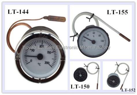 Bimetal Termometer Capillary square capillary thermometer china square capillary