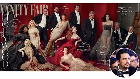 franco was scrubbed from vanity fair issue