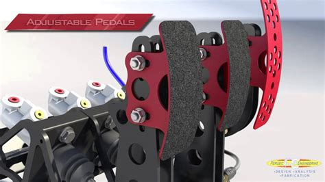 New Floor Plans by Racing Pedal Box By Perusic Engineering Youtube