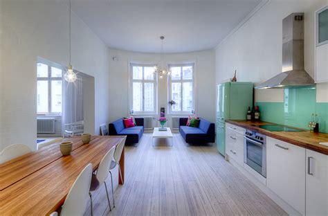 open concept apartment design  stockholm
