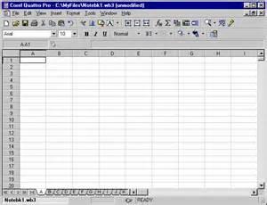 Quattro Pro Spreadsheet Lecture Notes