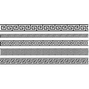 frise grecque de d 233 coration murale de la