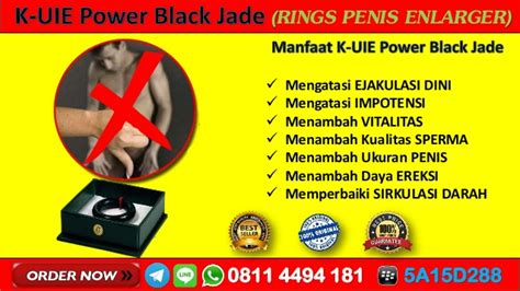 Black Jade Uie wa 08114494181 garcia obat ejakulasi dini energy black jade