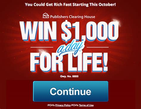Pch Giveaway 8800 - online sweepstakes and contests