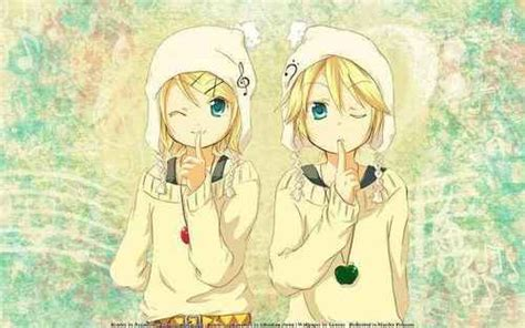 imagenes kawaii de rin y len rin and len kagamine images kawaii twins wallpaper and
