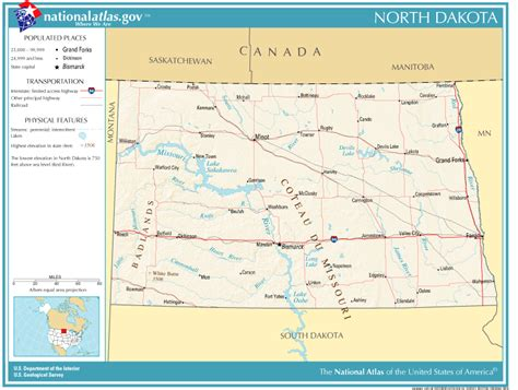 united states geography  kids north dakota