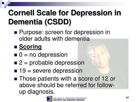 L For Depression by Ppt Cognitive Mental Status Assessment Of Adults