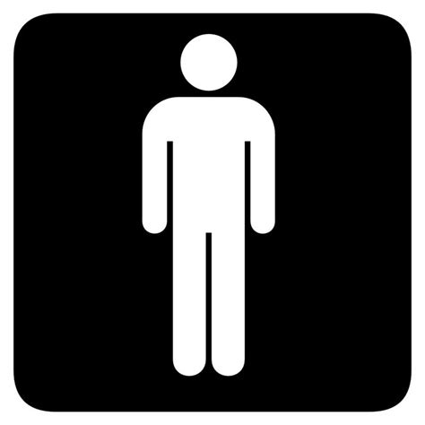 boys bathroom sign boys bathroom symbol clipart