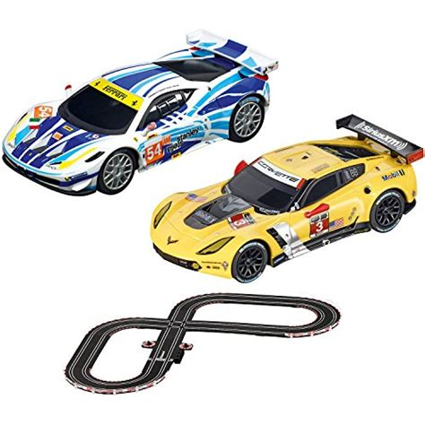 Go Gt Contest Track Set go gt contest slot car race track set 1 43