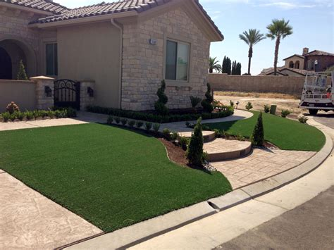 small backyard landscaping ideas arizona grass turf sun lakes arizona backyard playground front