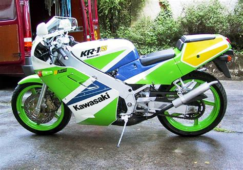 Kawasaki 2 Takt Motorrad by Kollektion Willi S Motorcycle World