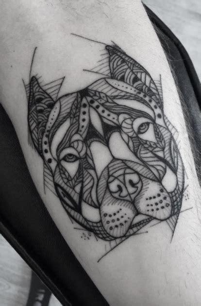 pitbull tattoo design black and gray pitbull black and gray tattoos