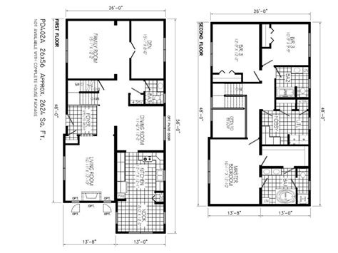 home plan to build 2 floor home 4 home ideas