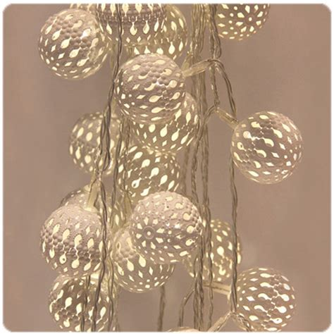 Grand Maroq Blanco Fairy Lights Mains Operated The Maroq Lights