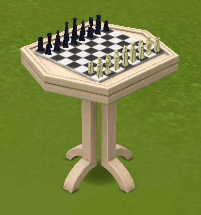 chess table chairs sims 3 chess table the sims wiki