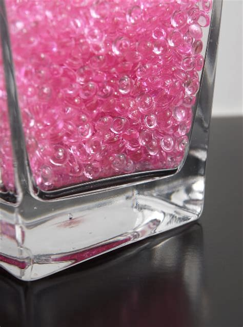Pink Glass Marbles For Vases by Pink Glass Drop Vase Gems 2 Cuups