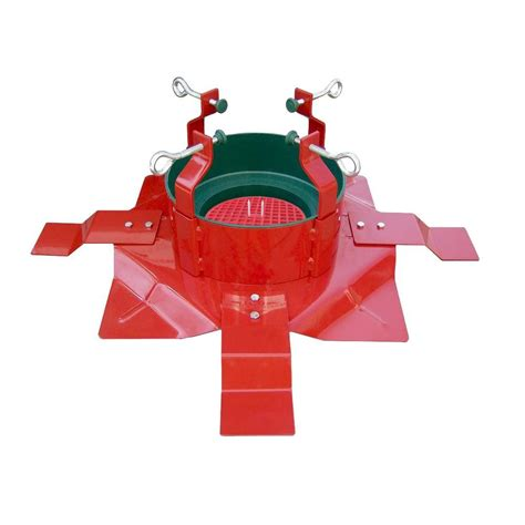 christmas tree water solution santa s solution steel tree stand with turn centering system for trees up to 15