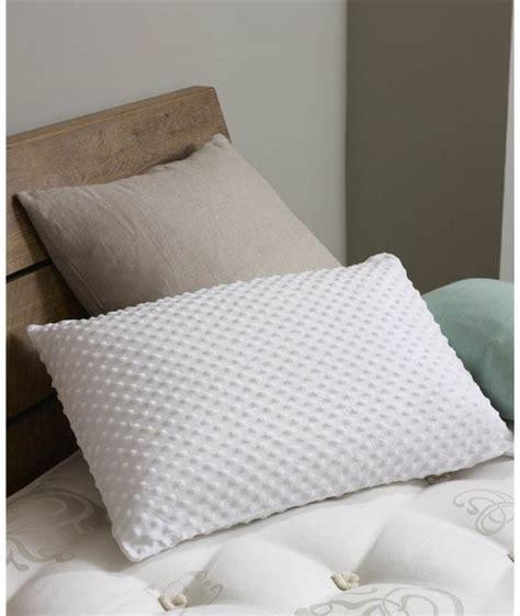 latex bed pillows hypnos reactive pillows low profile latex pillow pillows