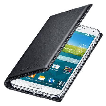 Flip Cover S5 official samsung galaxy s5 flip wallet cover black mobilezap australia