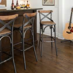 Kitchen Island Chairs With Backs by 25 Best Ideas About Industrial Bar Stools On Pinterest
