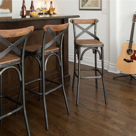 Pine Bar Stools With Backs by 25 Best Ideas About Metal Bar Stools On Metal