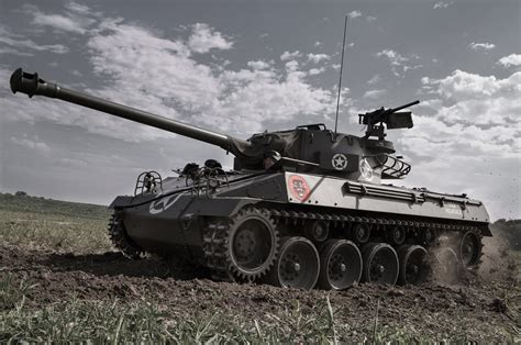 our cars driving a 69 year buick m18 hellcat tank
